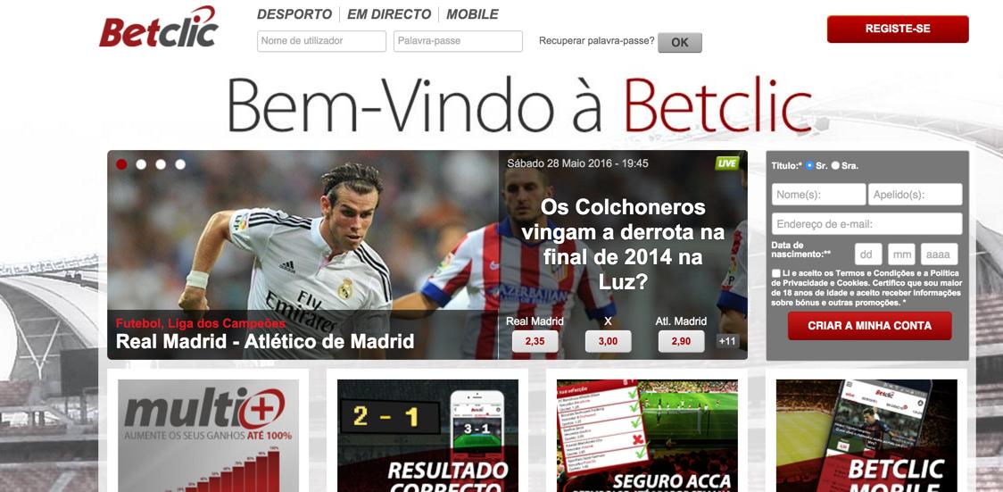 Sites de apostas online em portugal legais