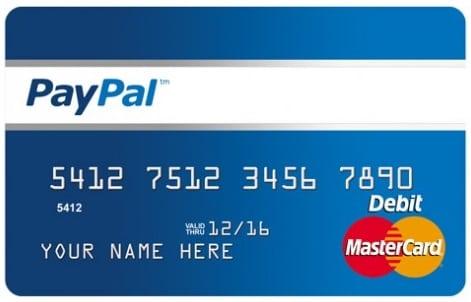 Paypal Mastercard Pré-Pago